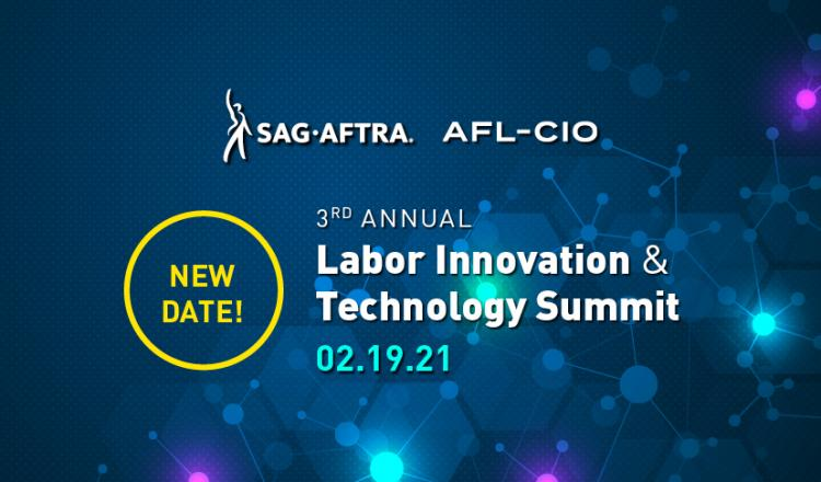 2020 Labor Tech Summit, Save the Date! Feb, 19, 2021