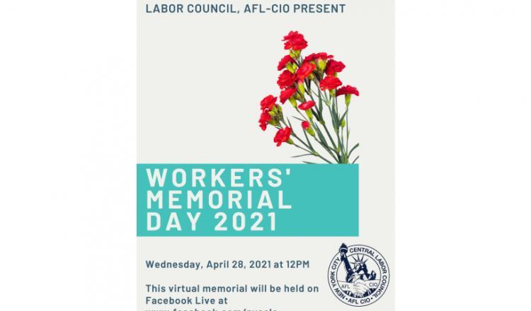 Día Conmemorativo de los Trabajadores 4-28-2021