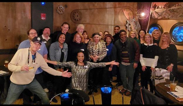 Members at the Gateway Film Center for the Columbus SAG Awards viewing party. Photo by Melissa Kidd