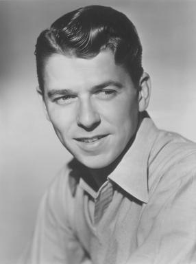 Ronald Reagan Headshot