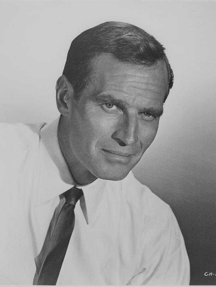 Charlton Heston Headshot