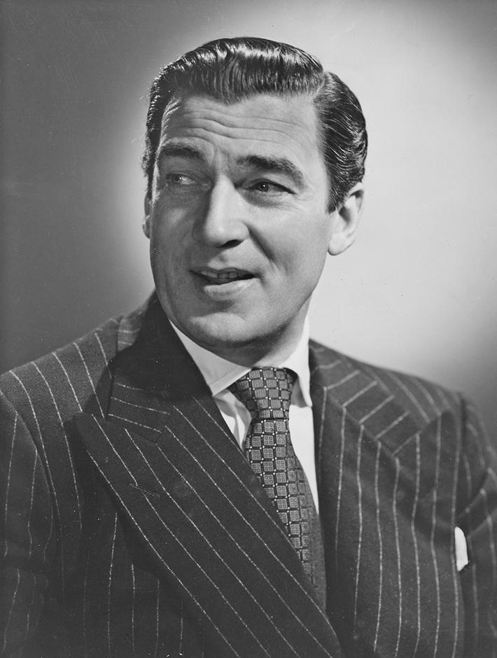 Walter Pidgeon Headshot
