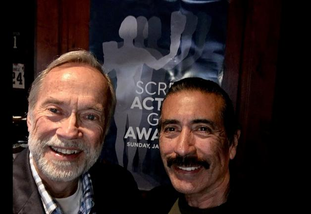 San Diego Local Board President Martin Alvillar, right, and Board member Lou Slocum on Jan. 19. Photo courtesy of Lou Slocum