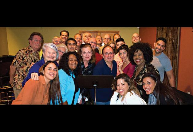 Members of the SAG-AFTRA Miami Local with Paul Liberti, center
