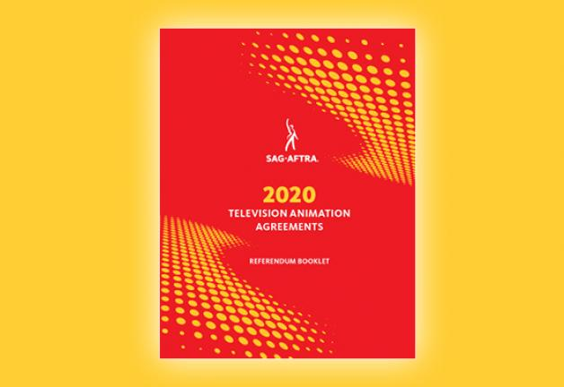 2020 TV/Theatrical Referendum Booklet cover with a black background