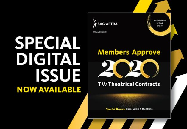 SAG-AFTRA magazine Enhance Digital Issue now available!