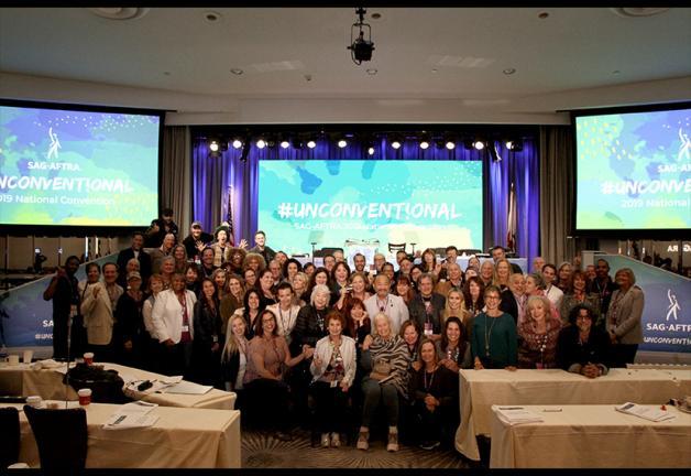 La Convención Nacional SAG-AFTRA 2019 Delegados locales de Los Ángeles.
