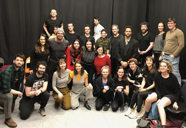Students of the Stella Adler School of Acting enjoyed a visit from members and staff on Feb. 13.