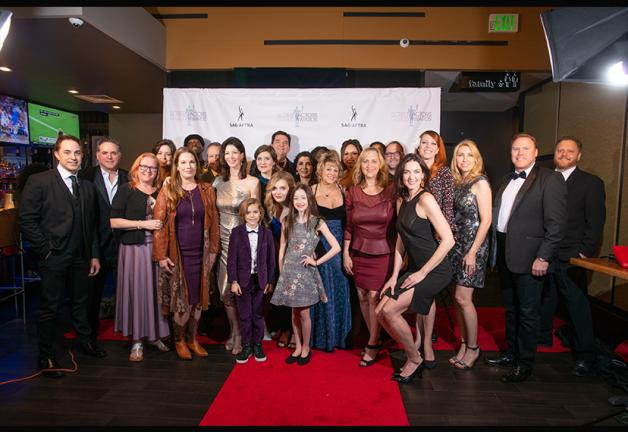 Members of all ages gather to celebrate the 25th SAG Awards in Houston. Photo by Prestige Photography