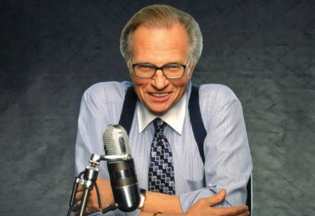 La leyenda de la radiodifusión Larry King falleció a los 87 años.