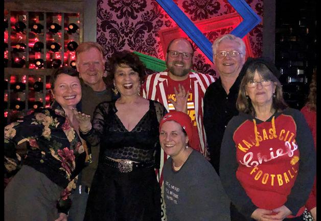 From left, Local Board Vice President, Kansas City, Vivian Bell, member JP Makus, Local Board member Dixie Henderson, and members Betsy Webster, Andrew Zimmerman, Michael Hogge and Wendy Thompson.