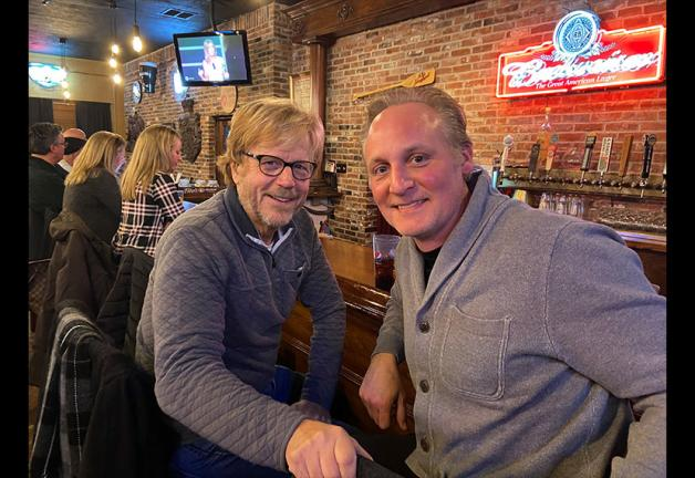 From left, Missouri Valley Local Vice President, St. Louis, Bill Schulenburg and Board member Eric Dean White on Jan. 19.