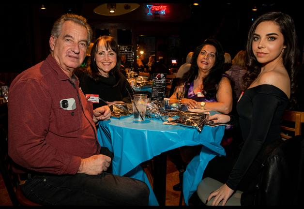 These Nevada Local partygoers have saved a place at the table for you! Photo by Shane O'Neal/SAG-AFTRA