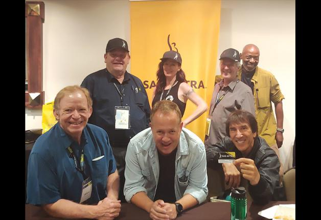 From left, front row, Local Board member William Sterchi, Local President Marc Comstock and National Board member and Local 1st VP Mel MacKaron. Back row, Local 2nd VP Michael Miller, Local Secretary Jackie Jones, Local Board member Tom Schuch and Sanford