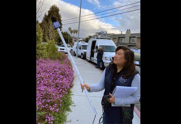 KCBS Radio reporter Holly Quan