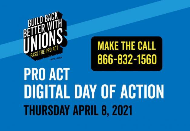 Hoy es el Día de Acción de PRO Act