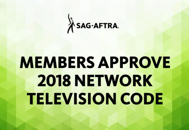 Members Approve 2018 Network Television Code