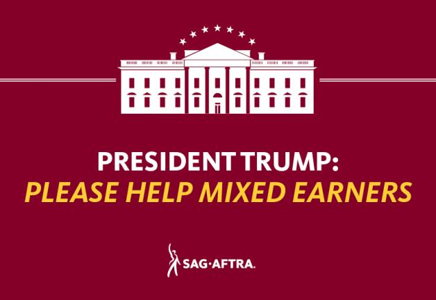 President Trump: Please Help Mixed Earners