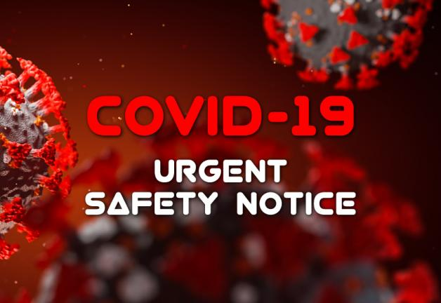 COVID-19 Safety Notice
