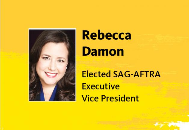Rebecca Damon re-elected Executive Vice President