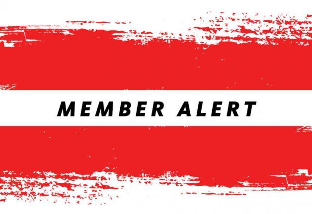 Member Alert