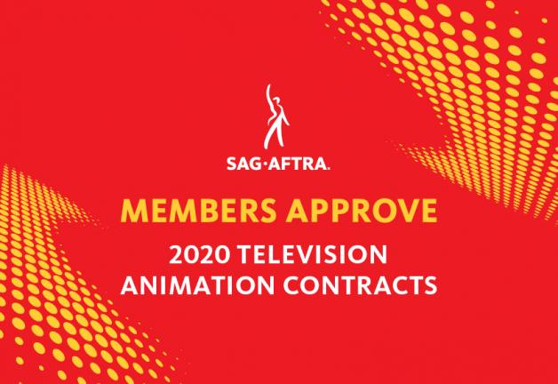 SAG-AFTRA Members Approve TV Animation Agreements