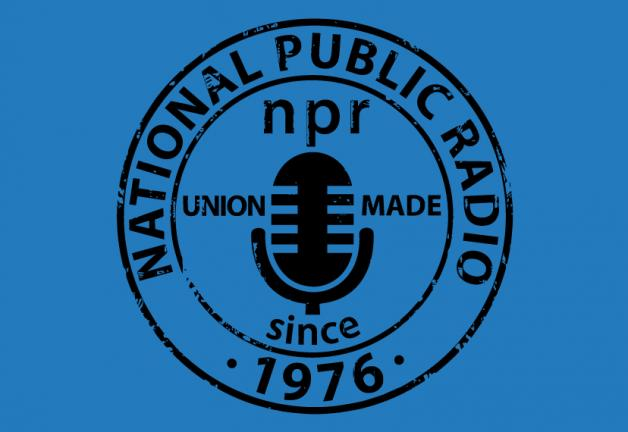 National Public Radio NPR, Union made since 1976