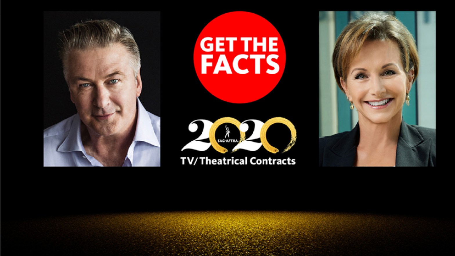 Alec Baldwin and Gabrielle Carteris discuss the 2020 TV/Theatrical Contracts