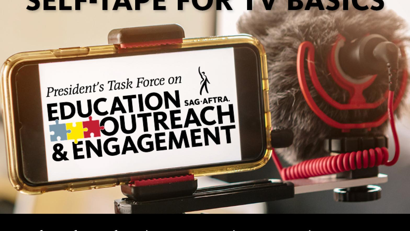 Self-Tape for TV Basics with Television, Film & New Media Casting Director Jason Kennedy