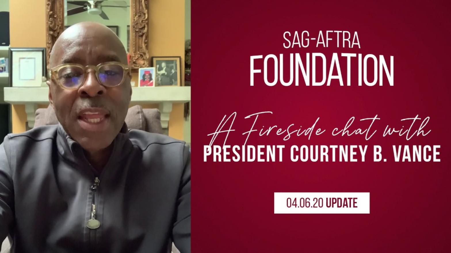 SAG-AFTRA Foundation President Courtney B. Vance | Fireside Chat