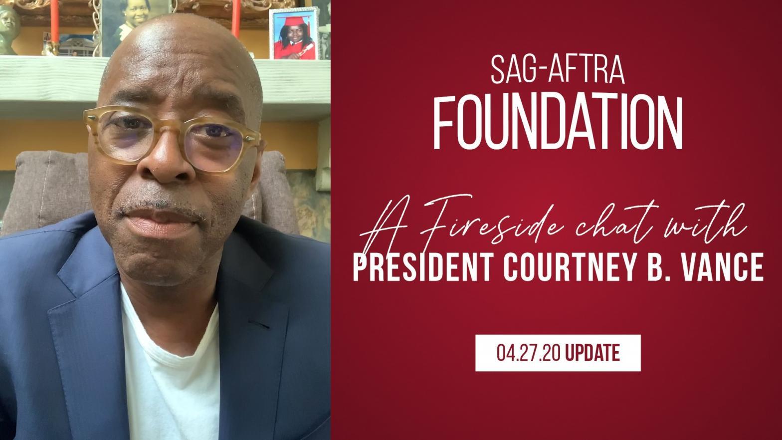 SAG-AFTRA Foundation President, Courtney B Vance