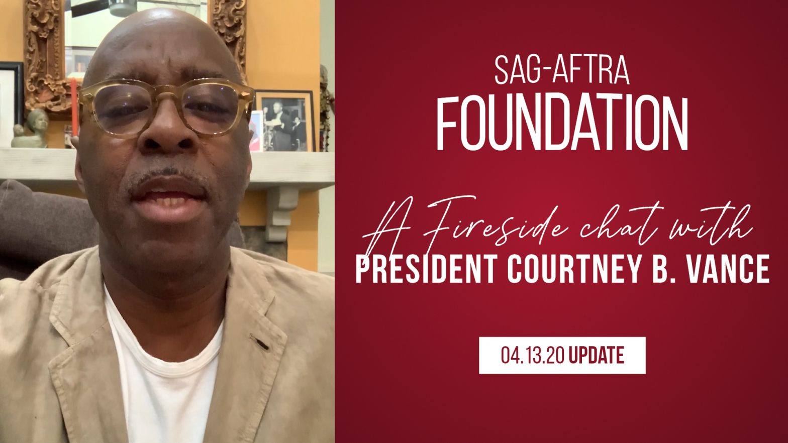 """SAG-AFTRA Foundation President, Courtney B. Vance's Fireside Chat"""