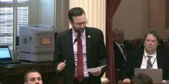 California State Senate Adjourns in Memory of Ken Howard