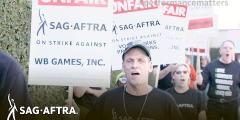 SAG-AFTRA Picket at WB Games