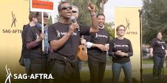 Members & Supporters Unite at SAG-AFTRA Video Game Strike Rally