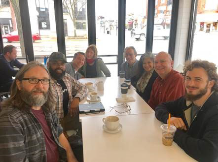 Members at a Coffee Connection